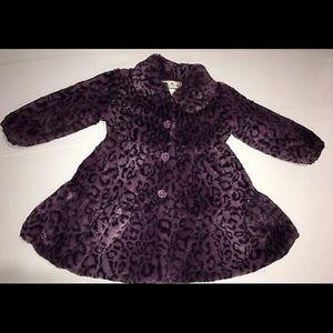 Jackets & Blazers - Little Girls Faux Fur Coat by American Widgeon